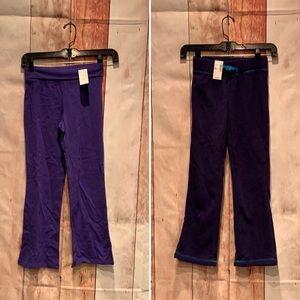 2 NWT 1989 Place girls long fleece & stretch pants